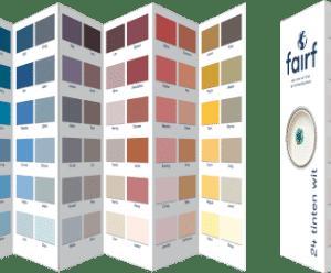 kleurenfolder
